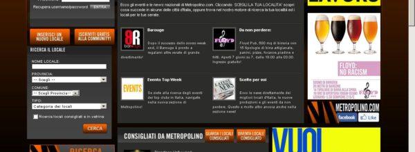 Metropolino | App Mobile