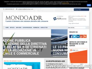 Mondo ADR   ADR Center Spa