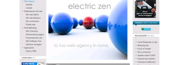 Electric ZEN Srl | Web Design