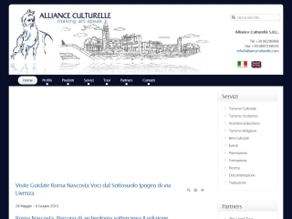 Alliance Culturelle Srl | Web Design