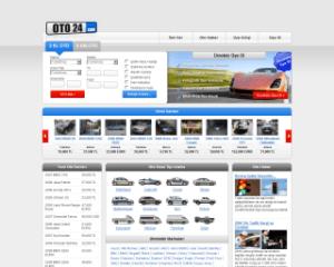 Oto24.com | il primo portale di annunci auto in Turchia | Web Design