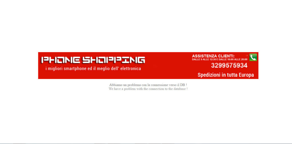 Phoneshopping.it | Mobile store srl