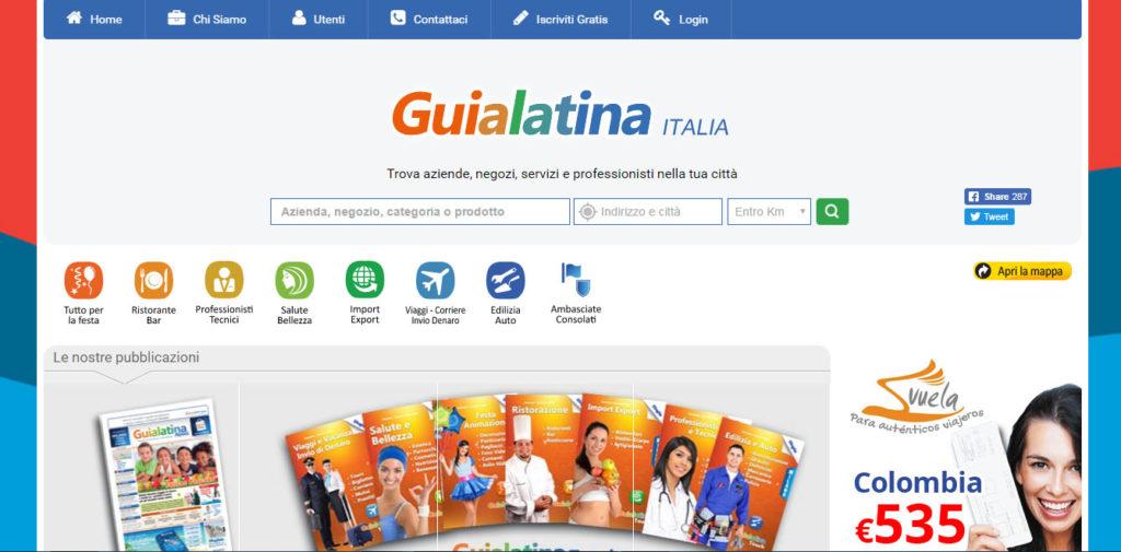 Guialatina.it   sviluppo web