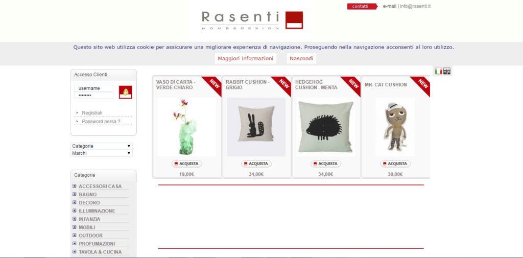 Rasenti Shop | Gruppo Ded