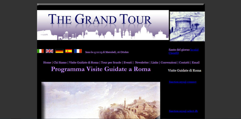 The Grand Tour   Alliance culturelle Srl