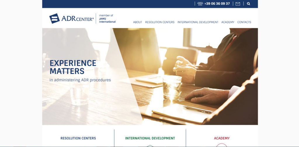 ADR Center   member of JAMS International