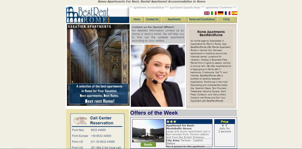 BestRentRome | Sviluppo gestionale