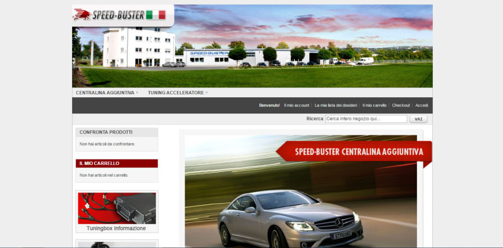 Speed Buster Srl   Sviluppo gestionale ecommerce