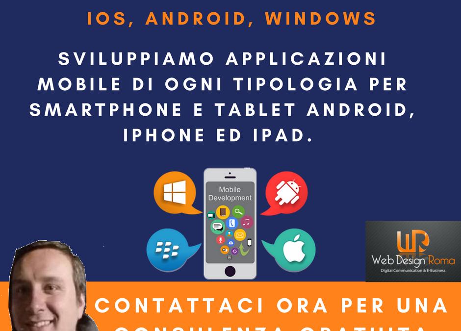 Sviluppo App Mobile IOS, Android, Windows