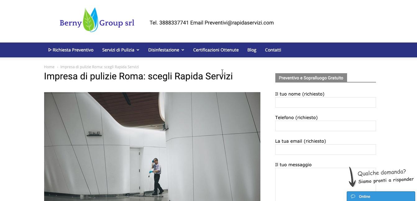 RapidaServizi di Berny Group Srl