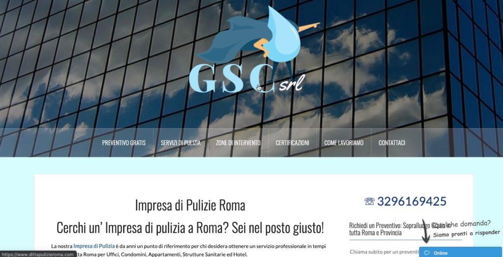 Ditta Pulizie Roma di Gsc Srl