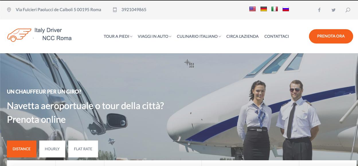 Tour & Transfer Ciao Italy SCARL | NCC Roma e Autista