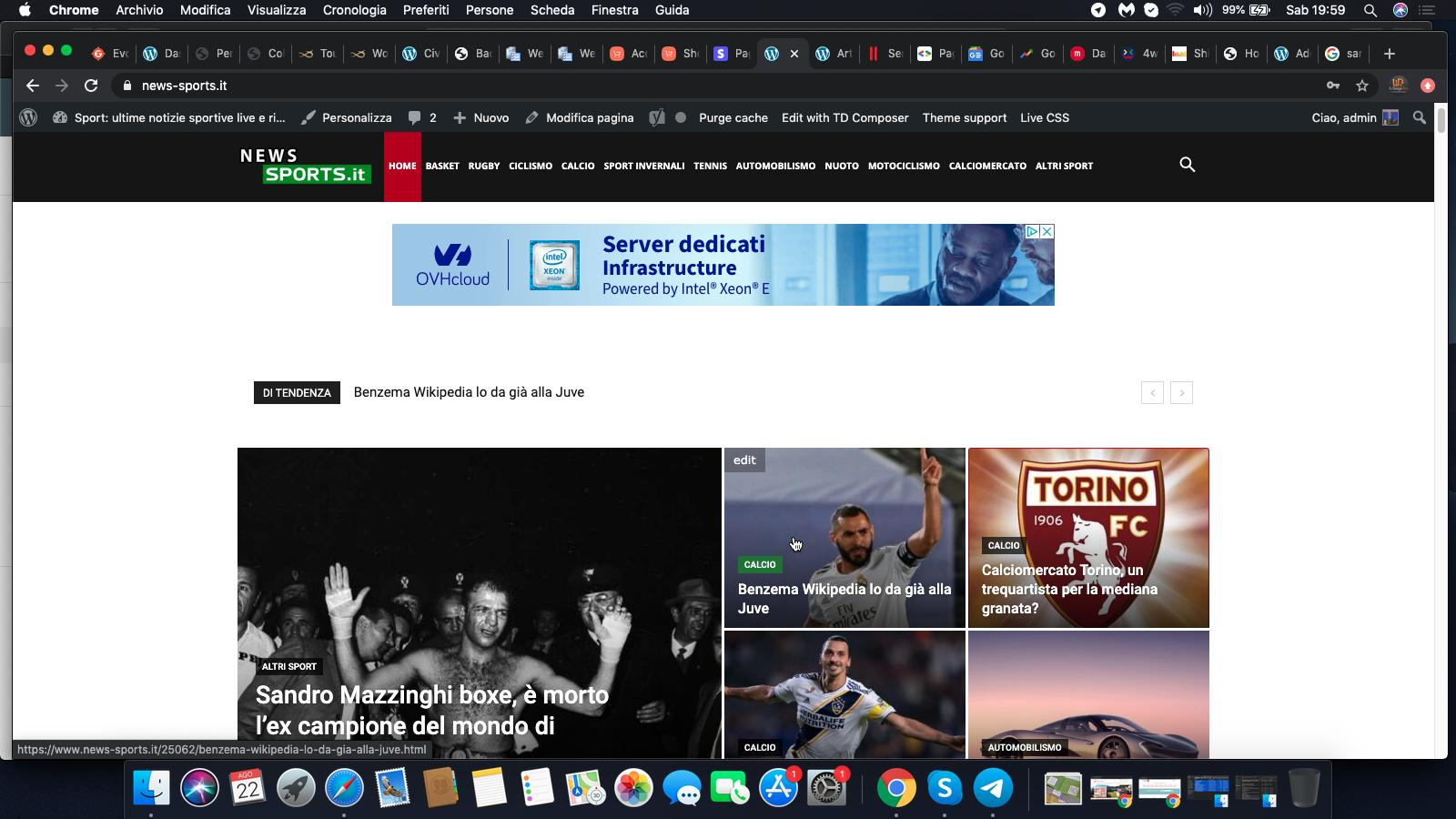 Notizie Sportive: La NEW Group è editrice del Giornale Online News-Sports.it