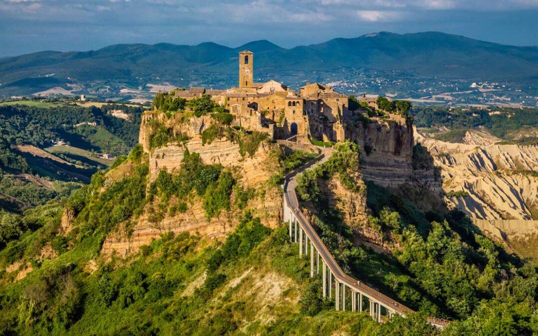 Civita di Bagnoregio, uno dei più bei borghi d'Italia.