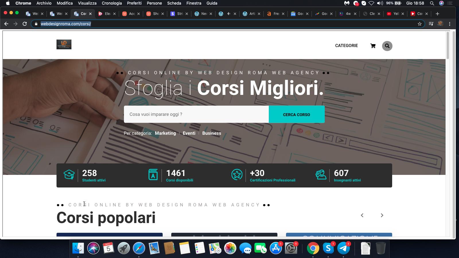 Corsi Online by WebDesignRoma Web Agency