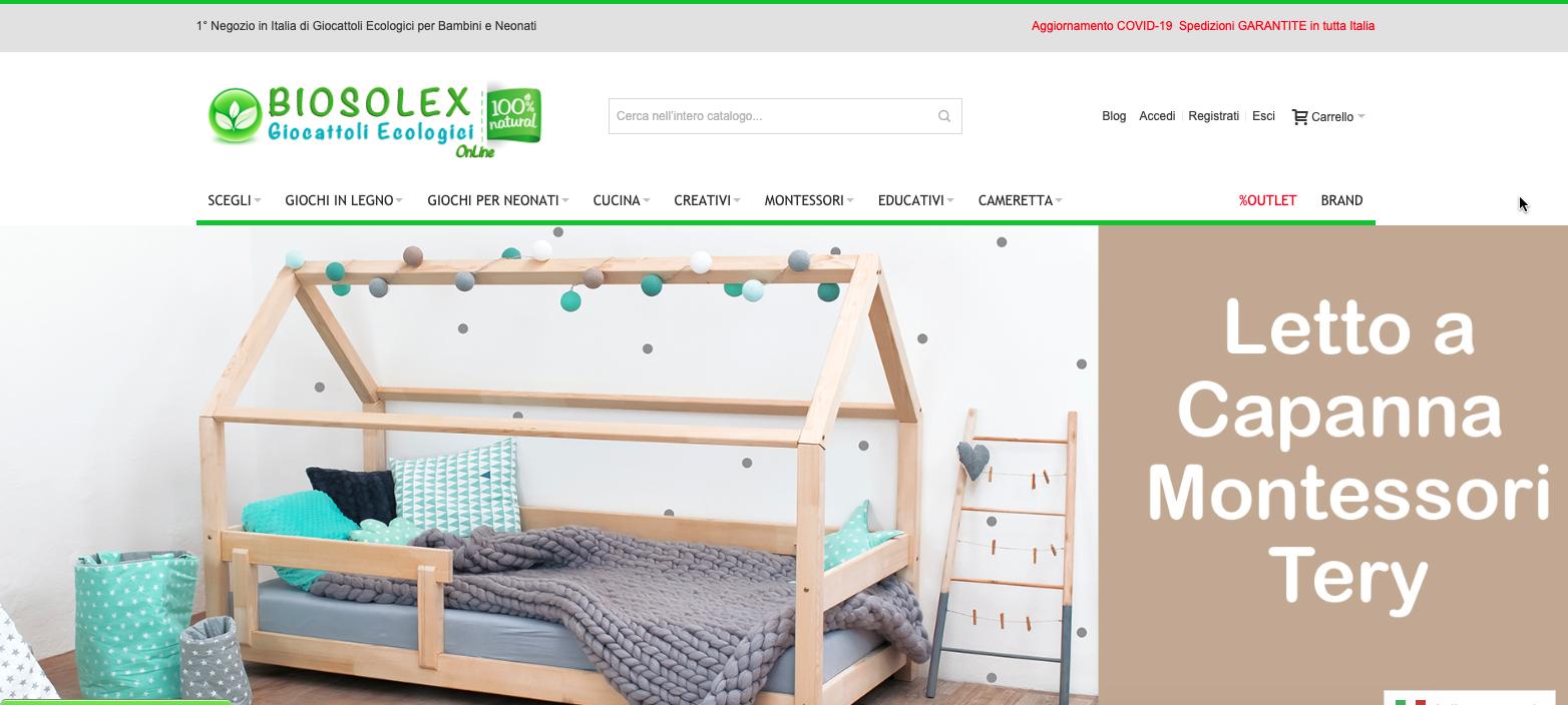 Biosolex.com eCommerce